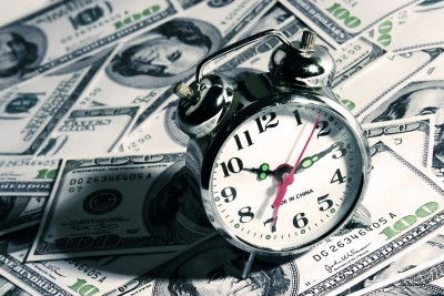 clock-and-money